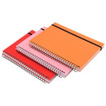 bulk jot hard cover spiral notebooks 5x7 in at dollartree com