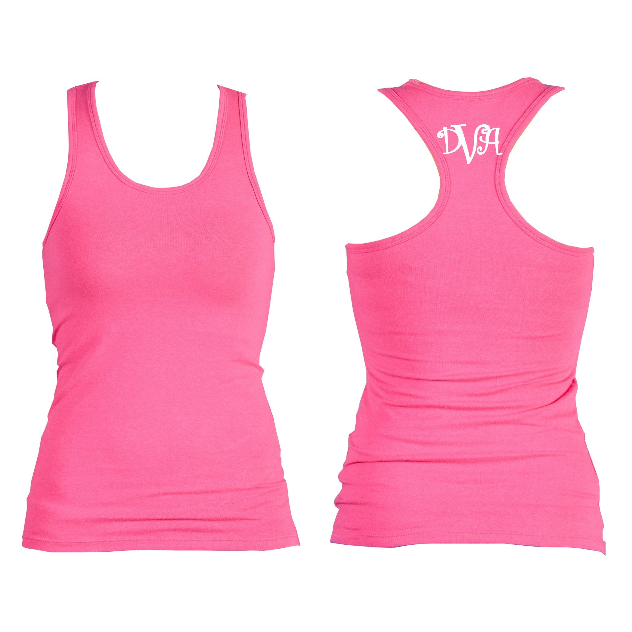 Monogrammed Racer Back workout tank...many colors available! www.kellykottage.com