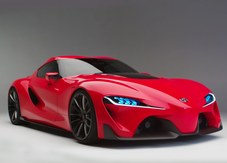 Awesome Toyota FT 1 Concept This Supra Is Sick.