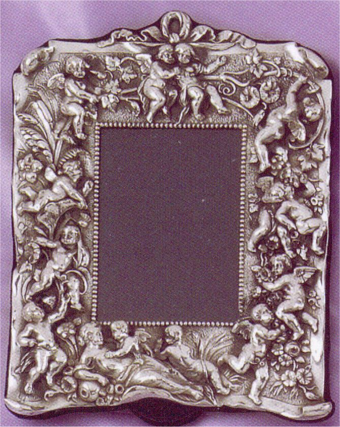 Sterling Silver Cherubs Antique Style Picture Frame | PICTURE (FRAME ...