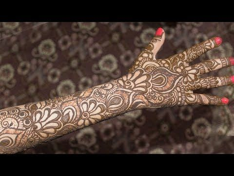 Henna Mehndi S : Best ornamental gorgeous arabic henna mehndi designs easy stylish