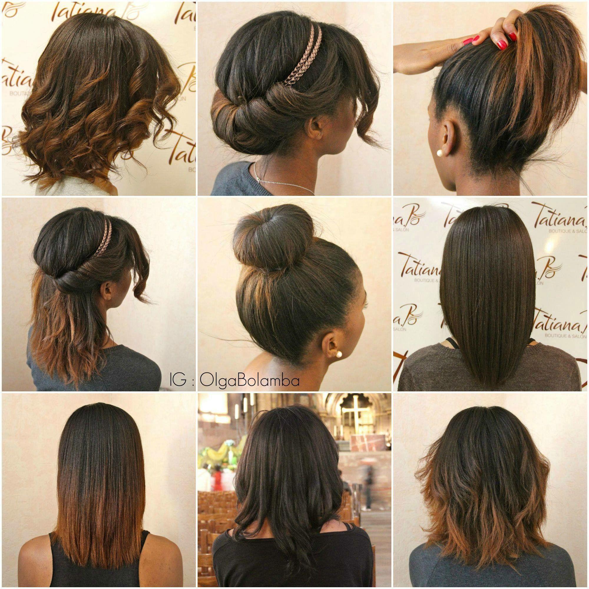 Épinglé par Ananiniss sur Beauté capillaire Cheveux