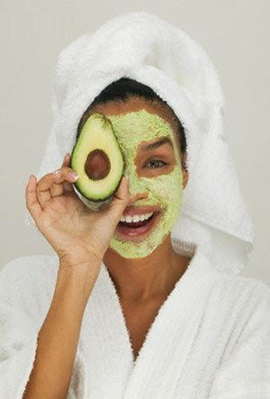 Nothing works better than #avocados for my skin as well  Natural #Eczema Treatment