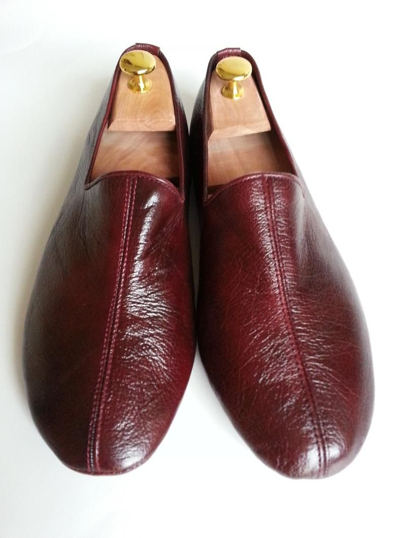 Photo of Sufi shoes ,leather slipper,stylish indoor shoes (cocoa color)