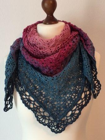 Traumwelten Tuch Handarbeiten Crochet Patterns Crochet Und Knitting