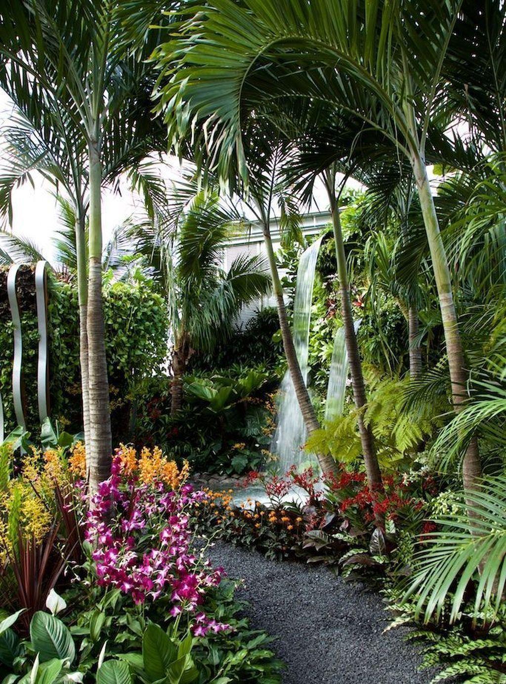 42 Tropical Landscape Designs Ideas | Gardening | Tropical ... on small flower garden ideas, garden flower bed island, landscape berm design ideas, garden bird bath planter,