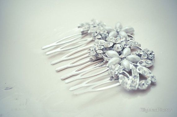 Vintage inspired photography vinatage hair comb by EllyMacTravel, $30.00