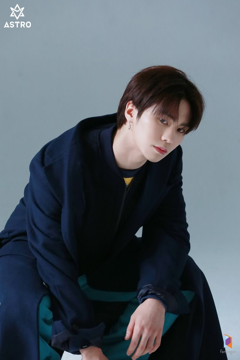 190128] #ASTRO naver update for the Marie Claire Korea