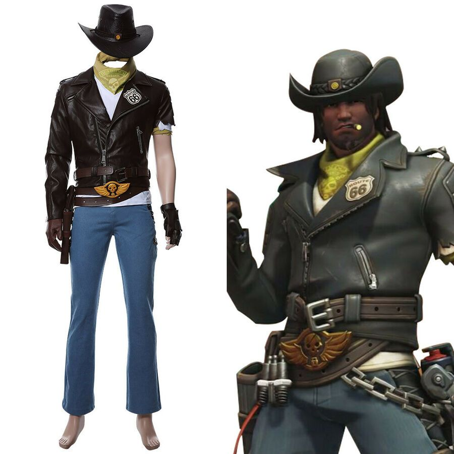 Mccree Halloween Costume 2020 Pin on Necklace