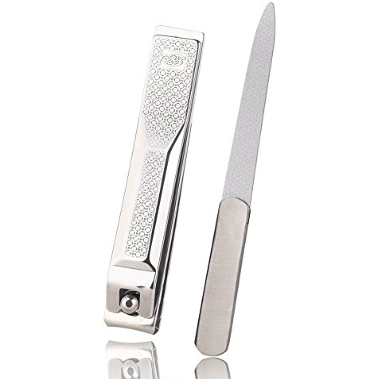 Nail Clippers by Aguder Stainless Steel Fingernail and Toenail ...