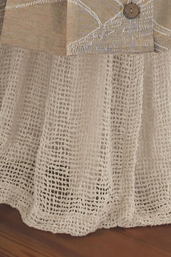 Raw Silk Woven Bedskirt In 2019 Decorating Ideas