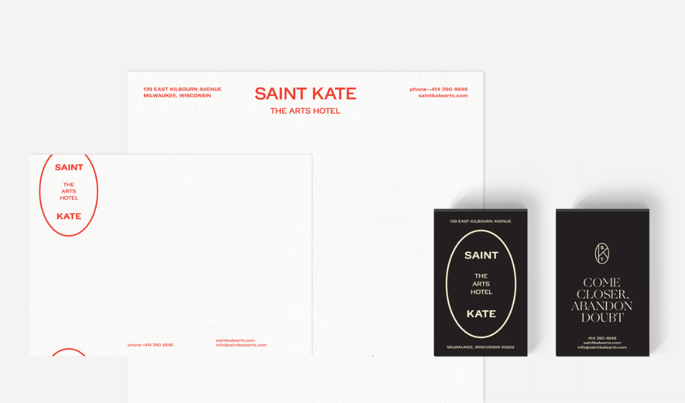 Featured Project Saint Kate The Arts Hotel One Design Company