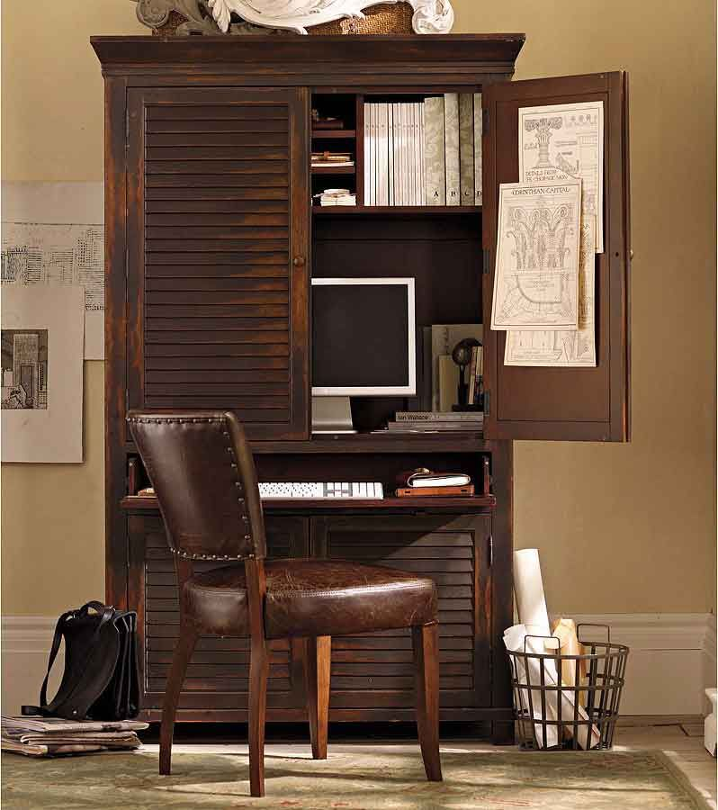 Charming Armoire For The Home Office