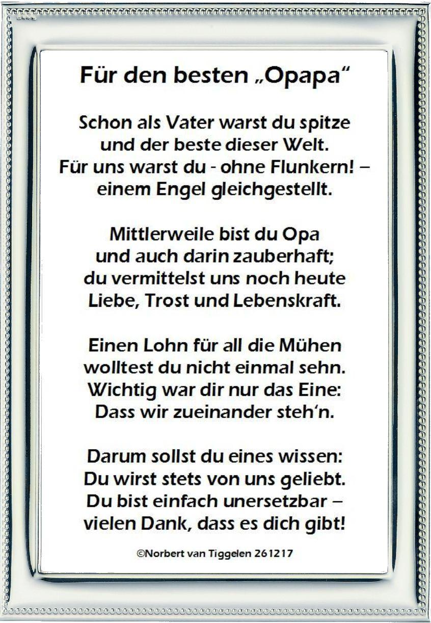 Pin Von Sabrina Janzer Auf Tt Gedichte Und Spruche Geburtstag