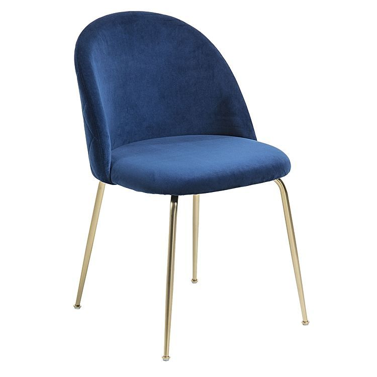 Gerulf Velvet Dining Chair Gold Legs By Vida Co Dining Chairs