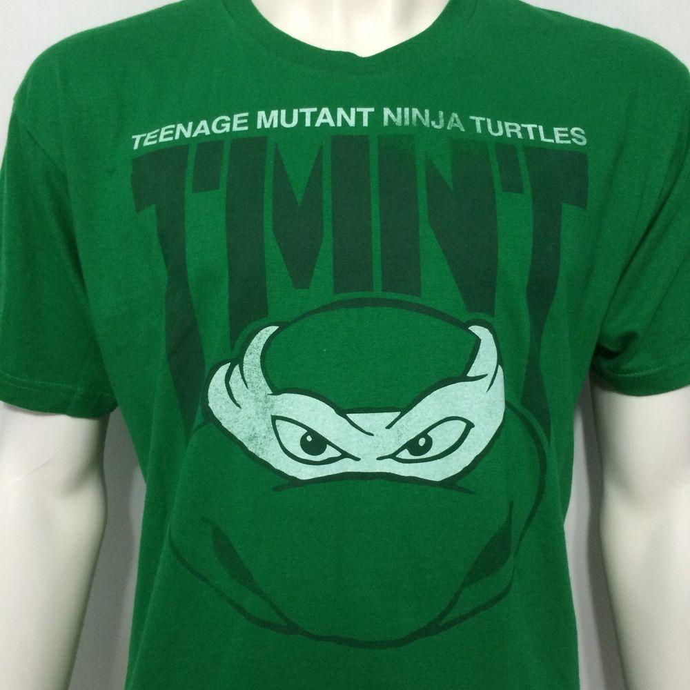 Teenage Mutant Ninja Turtles Large T Shirt TMNT Superhero Cartoon Comic Book #TeenageMutantNinjaTurtles #GraphicTee