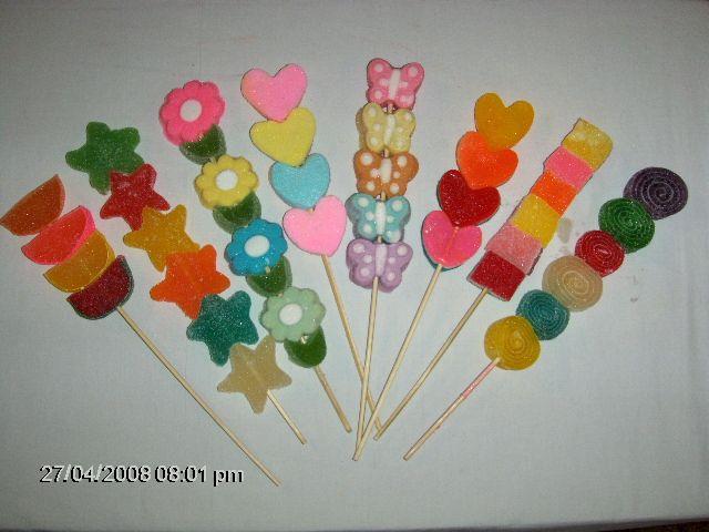 Pin de Betty Mendoza en Brochetas Pinterest Brochetas de dulces