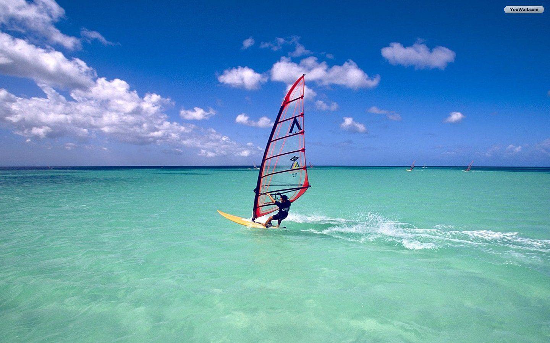 Windsurfing Wallpaper