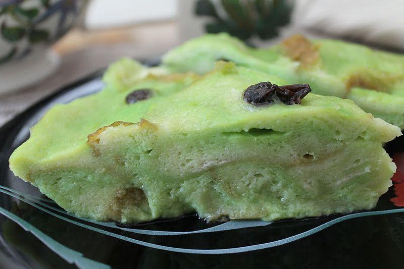 Resepi Bingka Roti Kukus Pandan Resipi Makanan Explo Rasa Asian Desserts Roti Food