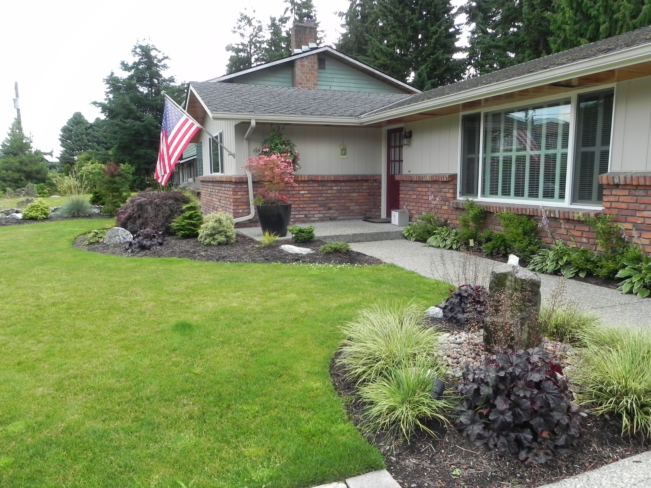 Front Yard Renovation Ideas Part - 34: Best Front Yard Landscaping Ideas For Split Level And Front Yard  Landscaping Ideas Dallas Texas