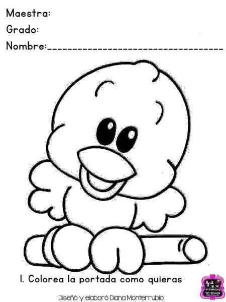 Fichas Examen Dificultad Media Infantil Y Preescolar 1 Animalitos Para Colorear Dibujos De Animales Tiernos Dibujo Animales Infantiles