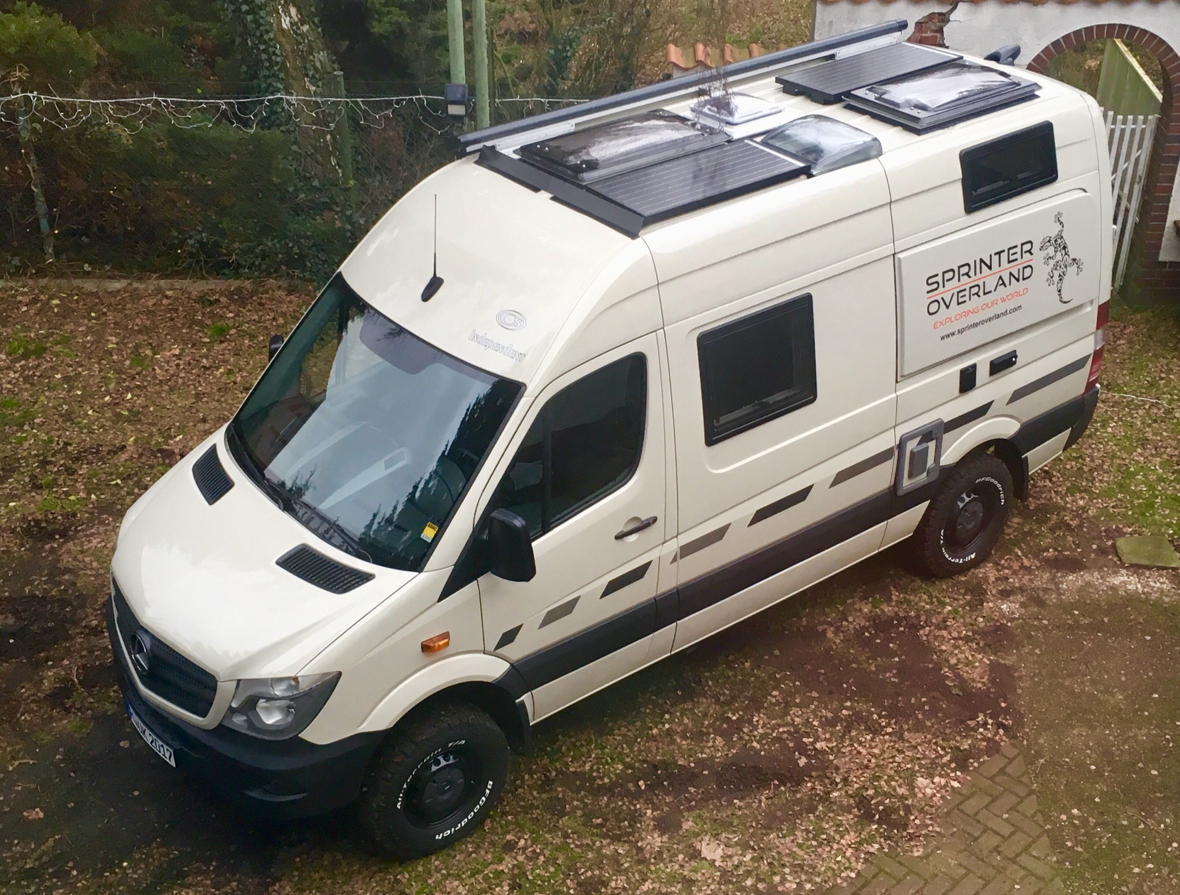 van awning awnings pin freedom bike conversions vans by storage outfit sprinter mercedes