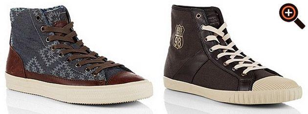 Hugo Boss Sneaker für Herren – Designer Schuhe im Sale – High Top    Sportschuhe 9a7425b97a