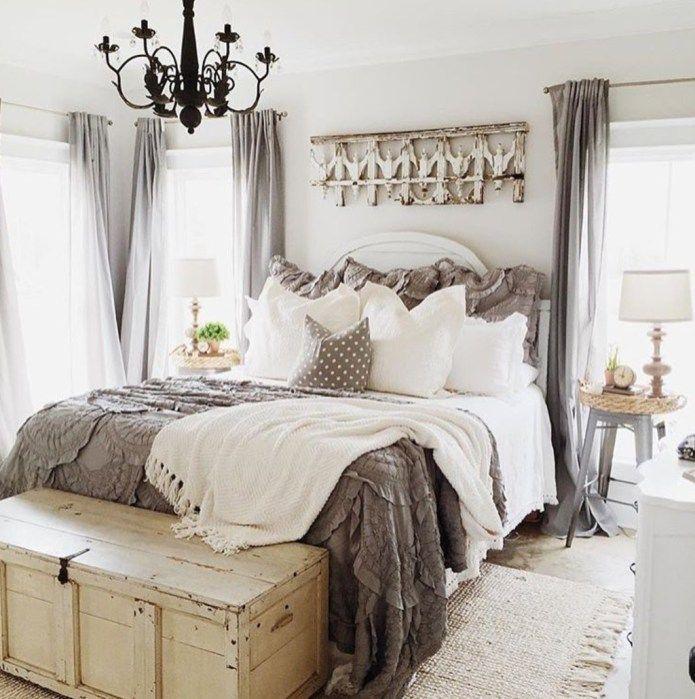 40 Guest Bedroom Ideas: 40 Unusual Farmhouse Bedroom Decor Ideas For Comfortable