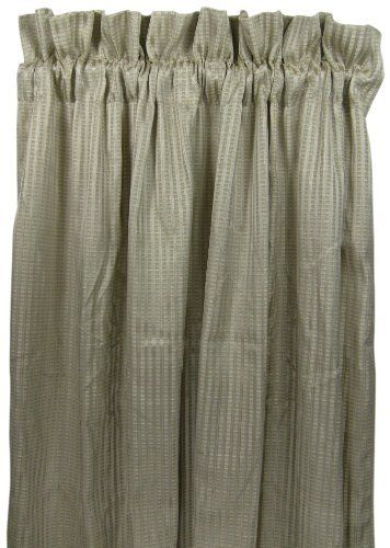 American Mills 42674033 Prism Drapery Panel 52 By 84 Inch Gray