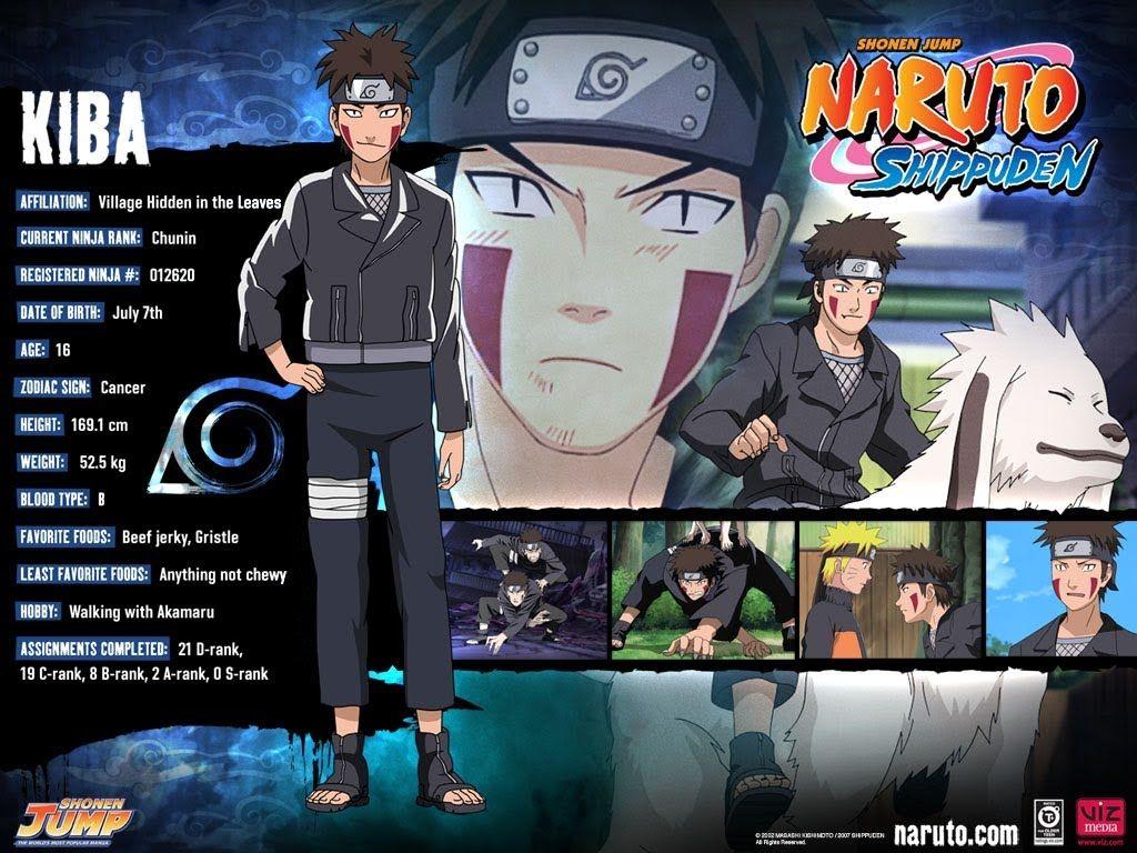 Anime Character Birthday 7 July : Kiba character info naruto stuff pinterest