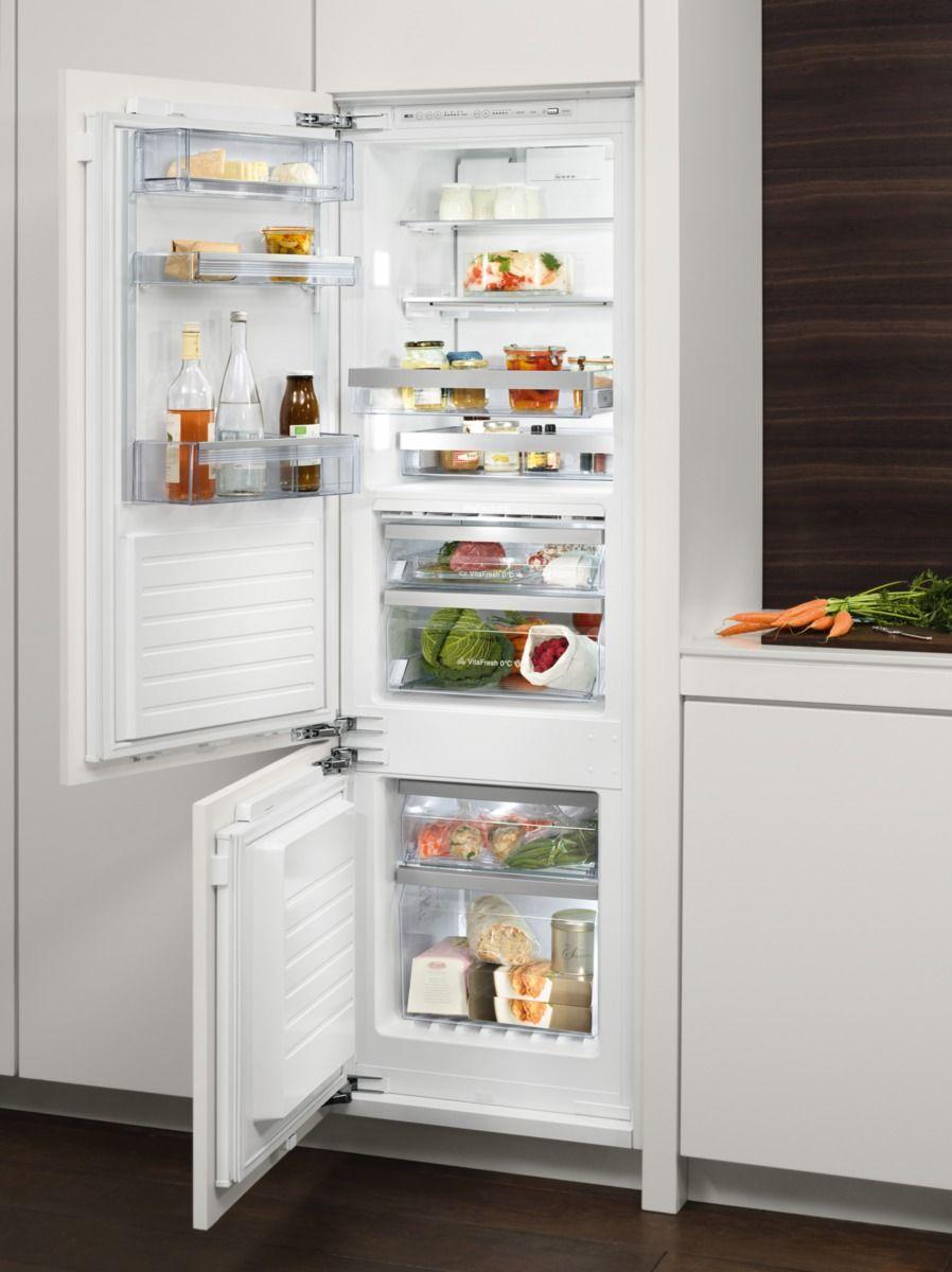 Kühlschrank Einbau einfacher einbau hinter eine möbeltür integrierbare kühlschränke