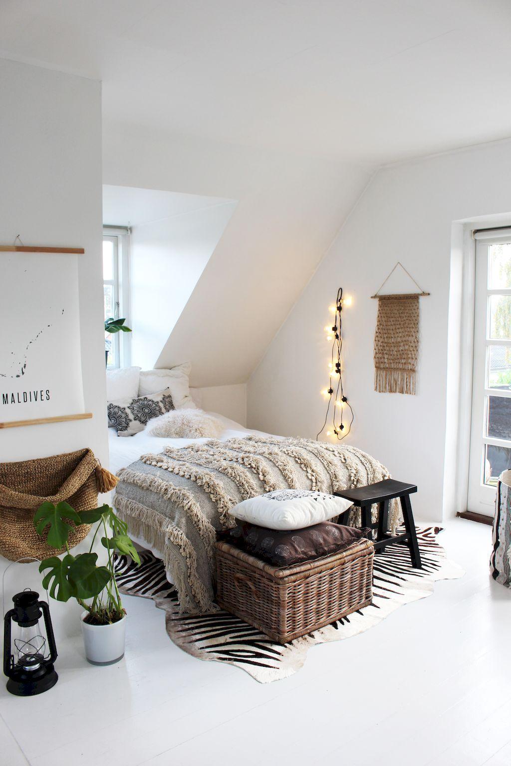 70 simple minimalist bohemian bedroom design on a budget ... on Boho Bedroom Ideas On A Budget  id=49372