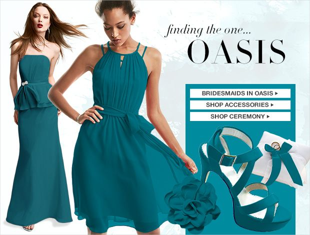 Oasis Bridesmaid Dresses