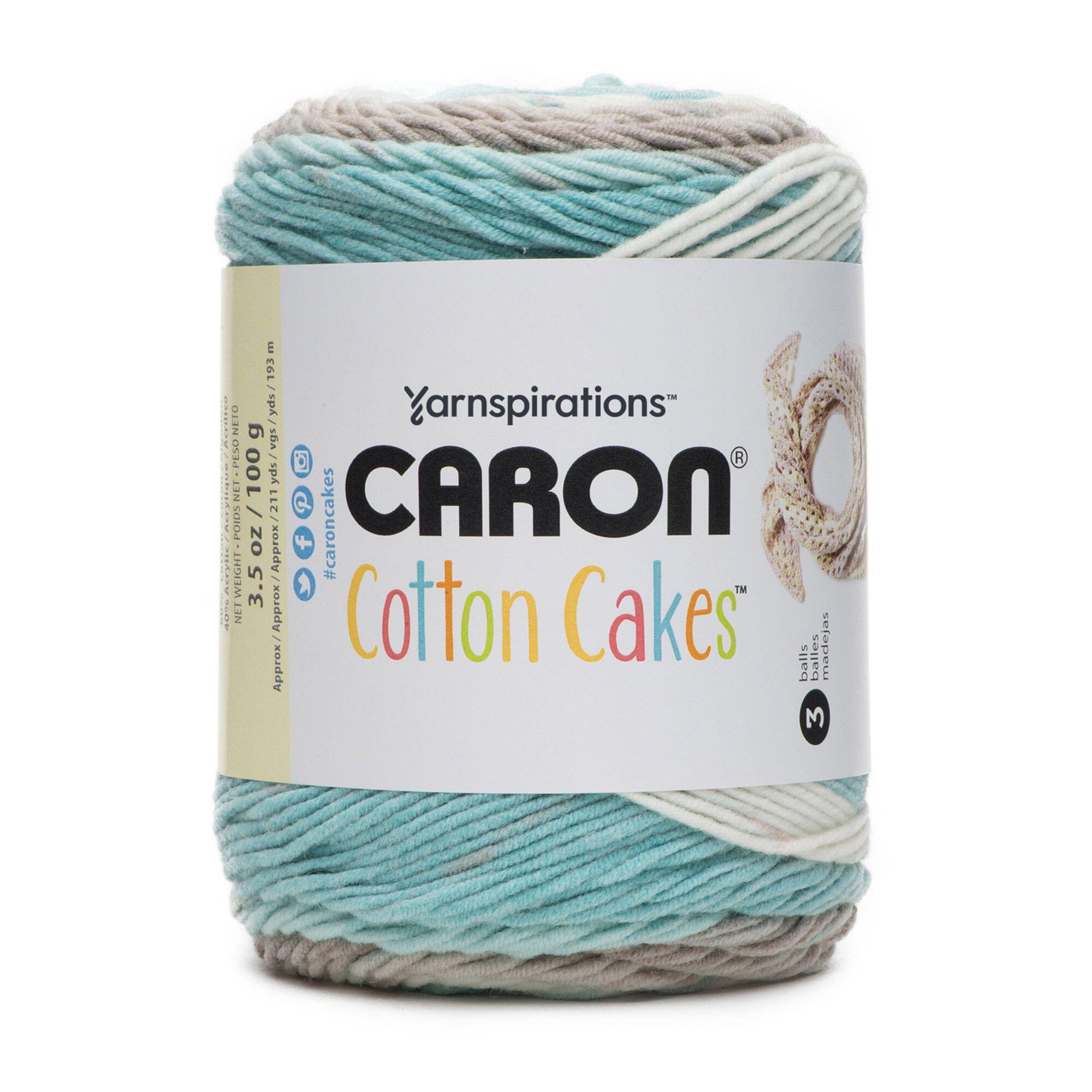 Caron cotton cakes yarn beach glass yarnspirations in