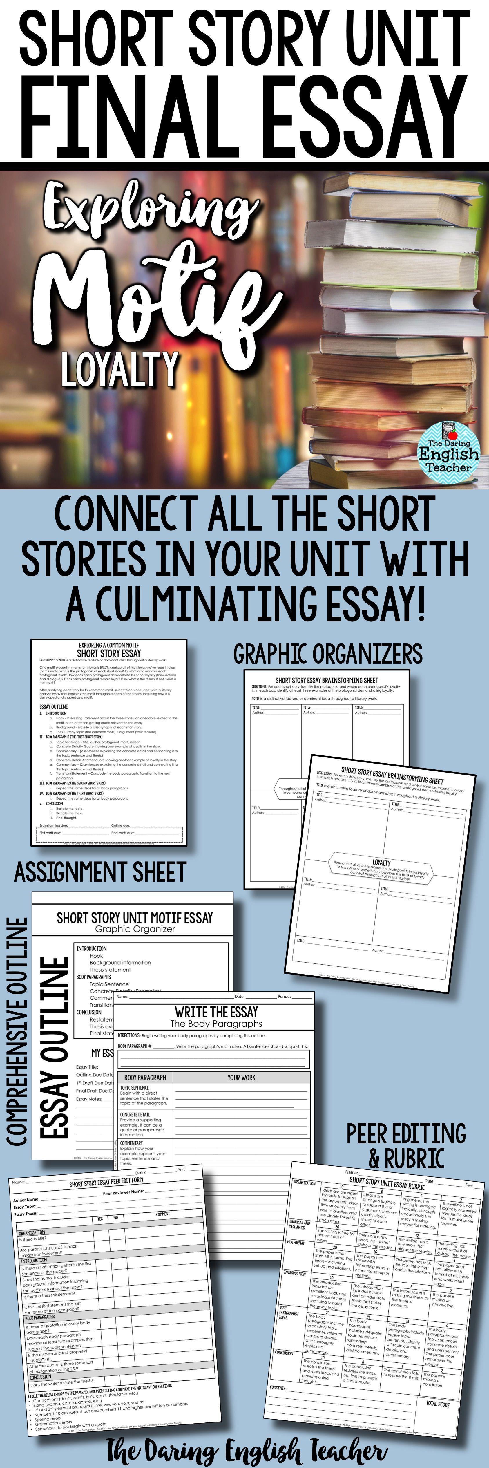 Mla Citation For Essays  Essay On E Waste also Courage Essay English Essay Short Story  Zorobraggsco Good Classification Essay Topics