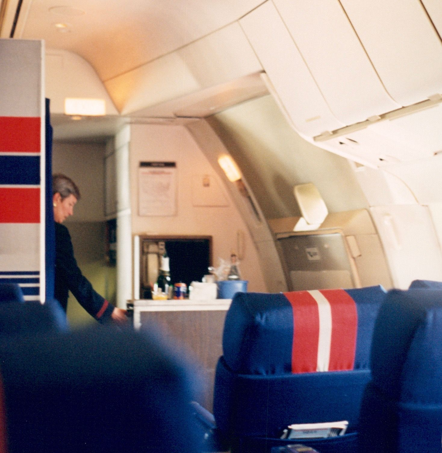 Jon Proctor » TWA's TriStars  Twa 747 Cabin