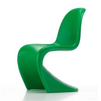 Vitra Panton Chair Stoel   Panton chair, Round wicker chair
