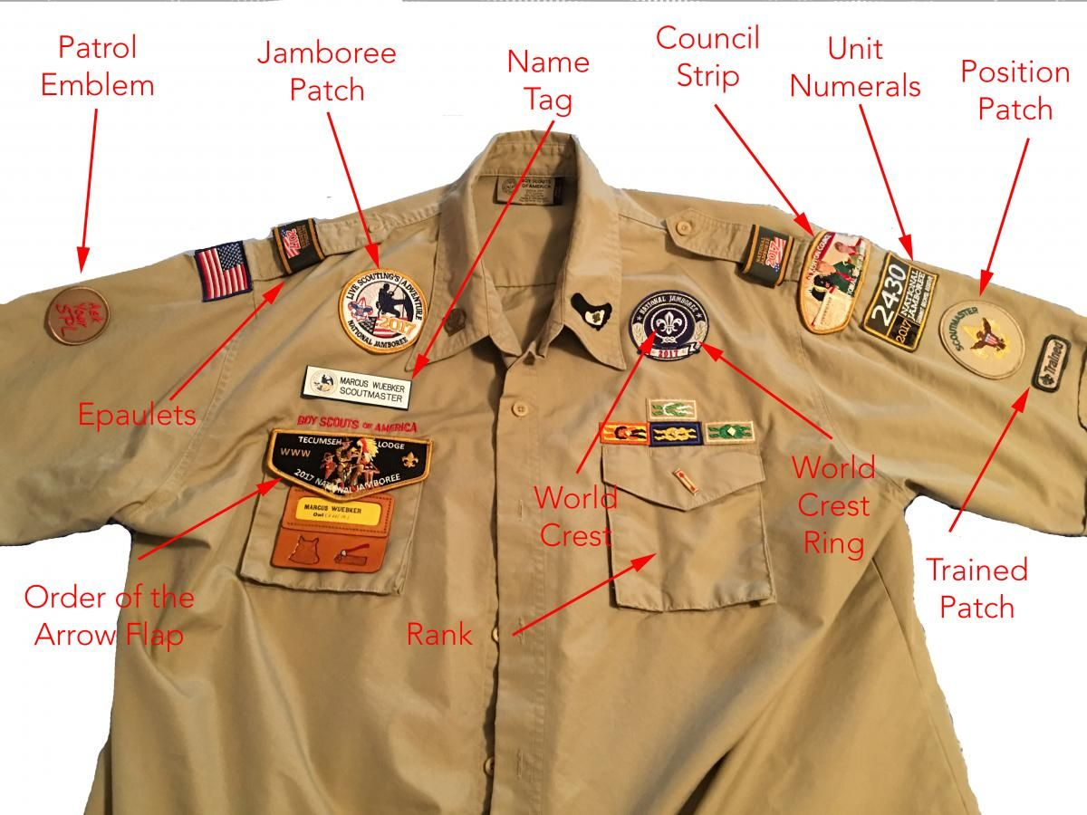 Uniform guide | boy scouts of america.