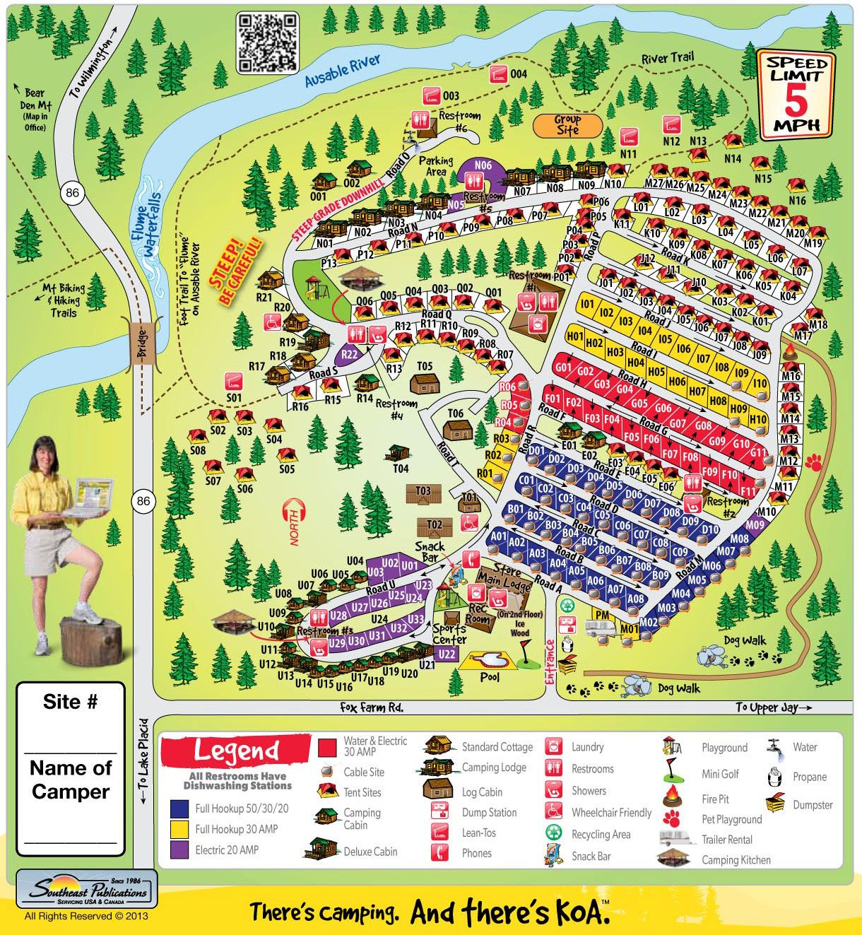 Campground Site Map - Lake Placid KOA | Campgrounds | Campsite, Rv on scott louisiana map, koa oklahoma map, manchester california map, tower park koa map, scott koa campground map, petaluma koa map, koa camping map of georgia, koa arizona map, koa in usa,