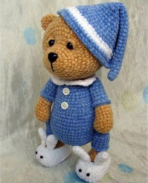 Teddy Bear Sleeper - Amigurumi - Free Crochet Pattern | CROCHETED ...