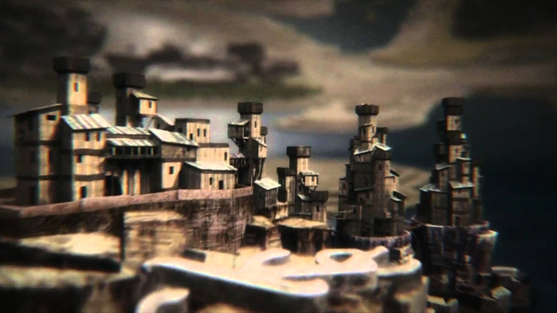 Game Of Thrones Map Of All Four Seasons King S Landing