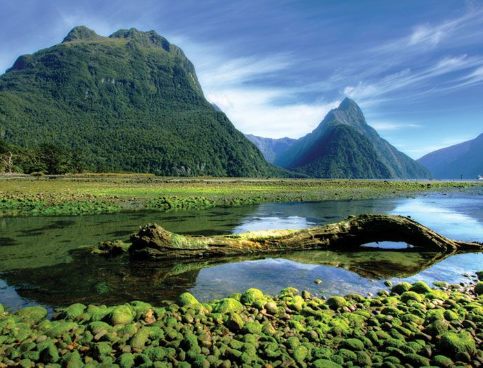 New Zealand geography | Australia & Oceania | Pinterest | Milford ...
