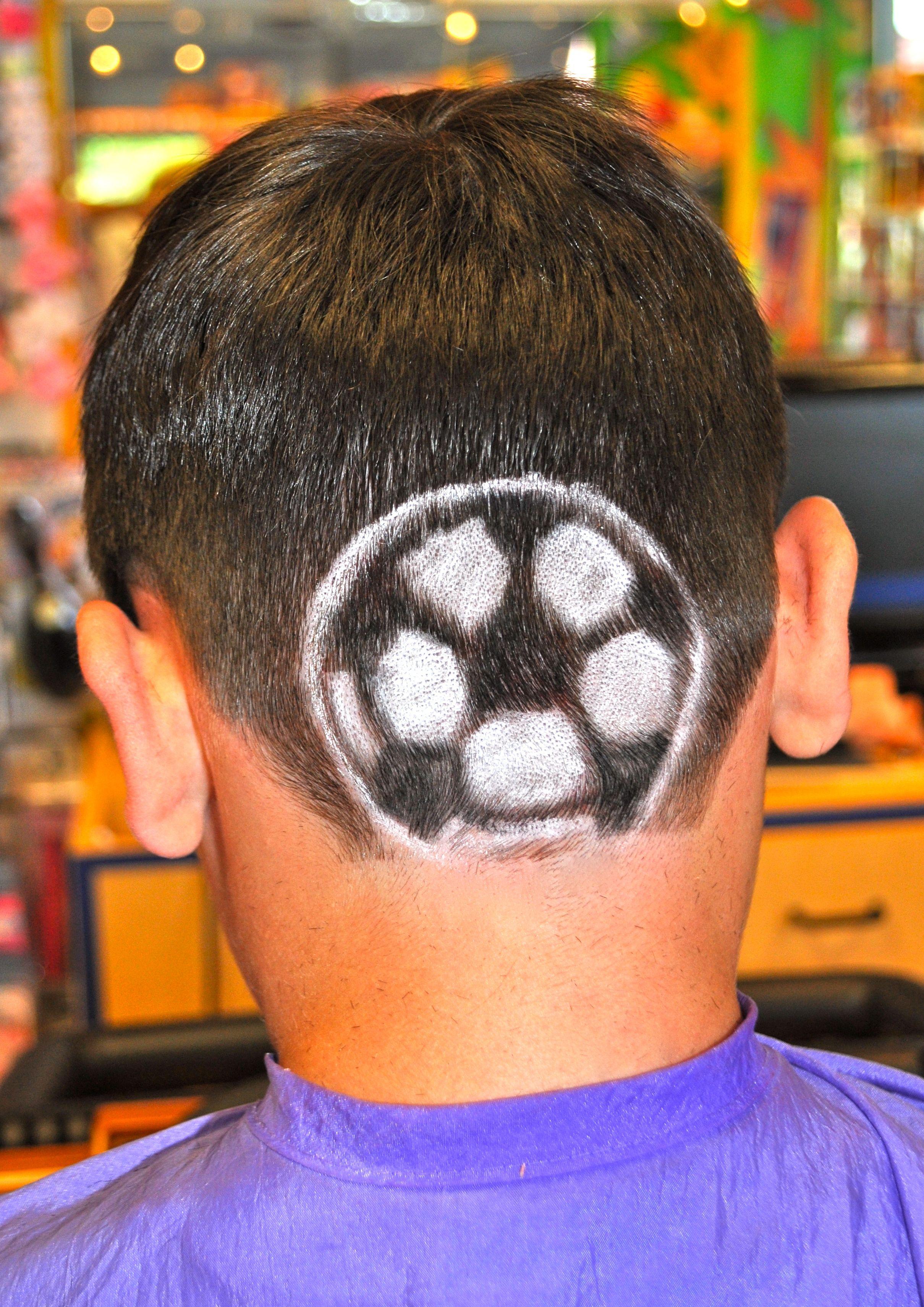 Soccer Ball Kidsnips Com Ball Hairstyles Crazy Hair Days Crazy Hair