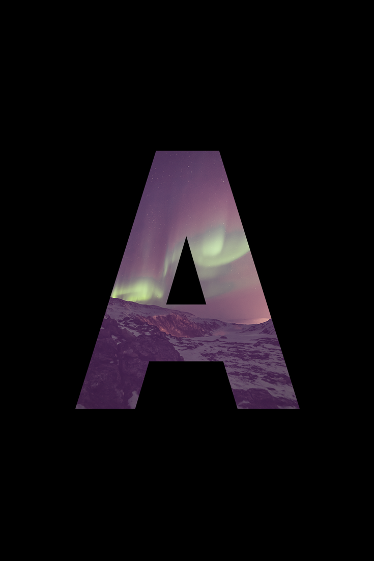 Letter A On Black Background Created By Me Using Canva Alphabet Wallpaper A Letter Wallpaper Wallpaper Backgrounds