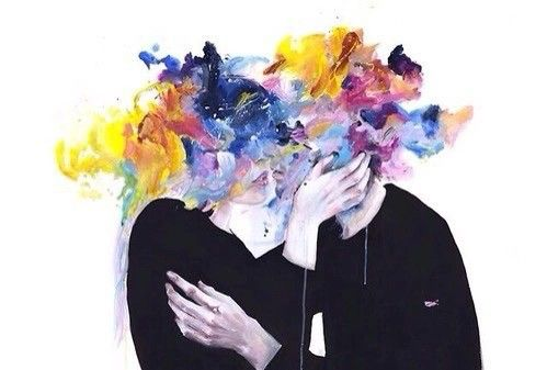 Imagem de love, art, and kiss