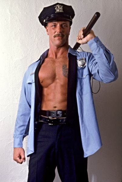 Real k9 cop stripper