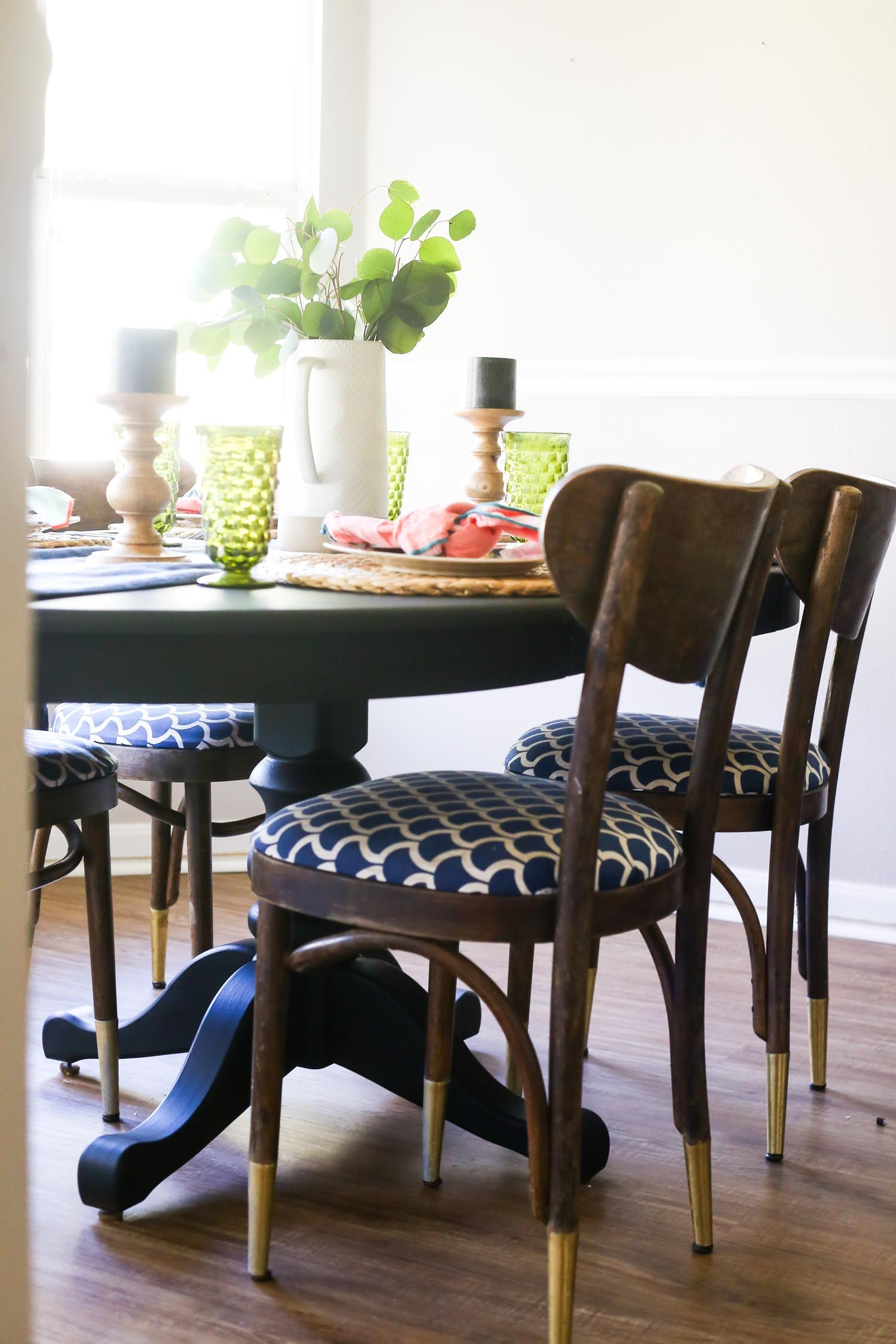 Using milk paint to refresh a piece of furniture - what is milk ...