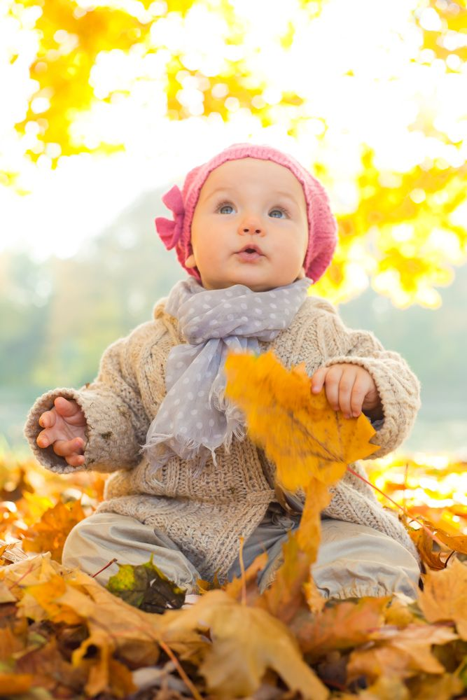 Baby Picture Ideas For Fall