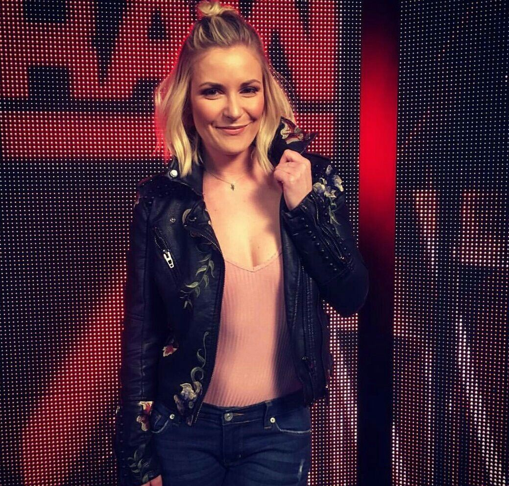 Congratulate, seems Wwe renee young vagina