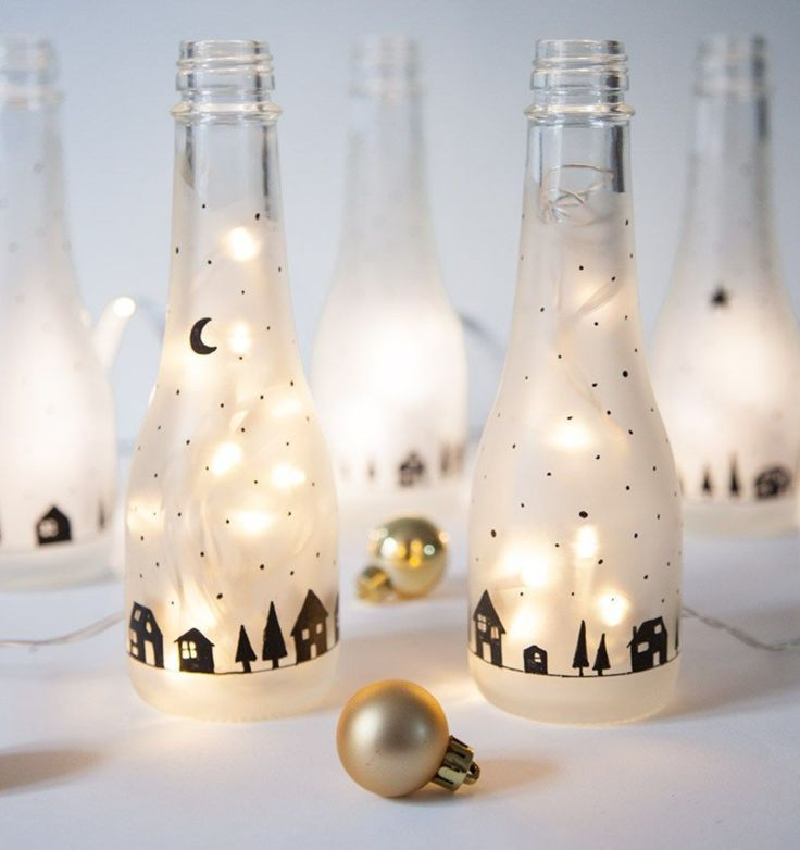 Making Christmas decorations for the table: These 7 DIY projects are done in 20 minutes! - -